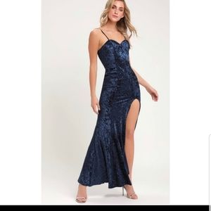Beautiful Blue Lulu's Gown